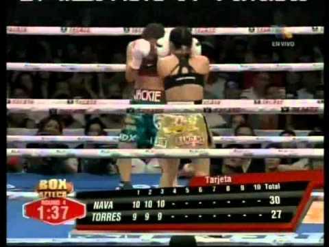 "Ana Maria ""La Guerrera"" Torres vs Jackie ""La Princesa Azteca"" Nava"