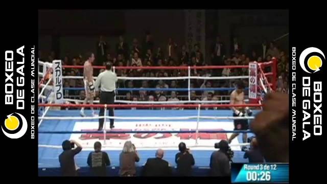 """Takashi Miura vs Gamaliel """"Platano"""" Diaz"""