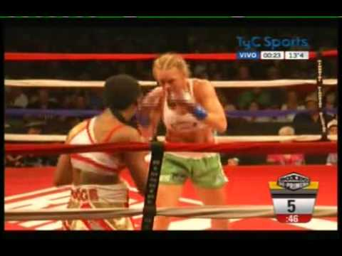 """Holly """"The Preacher's Daughter"""" Holm vs Mary """"Merciless"""" McGee"""