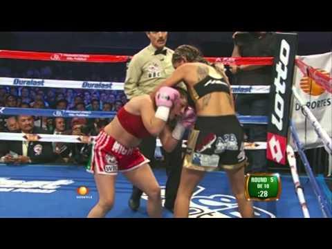 """Mariana """"Barbie"""" Juarez vs Melissa """"Mighty"""" McMorrow"""