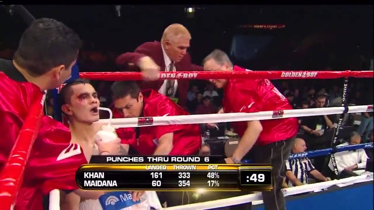 """Marcos """"El Chino"""" Maidana vs Amir """"King"""" Khan"""