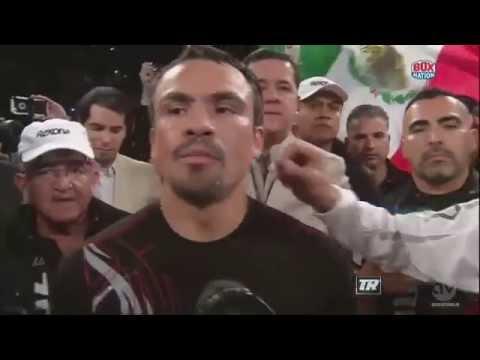 "Juan Manuel ""Dinamita"" Marquez vs Mike Alvarado"