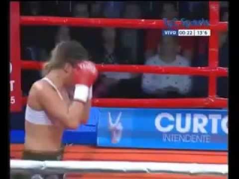 "Soledad ""Itaka"" Matthysse vs Jelena Mrdjenovich"